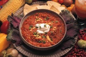 salsa in dish