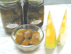Pickled Cantaloupe