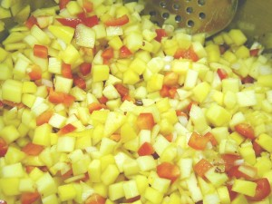 Mango Salsa Raw Mix