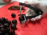 Pitting Cherries