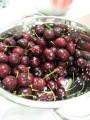 Raw, Washed Cherries