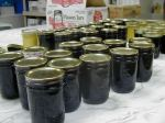 blueberry jam jars